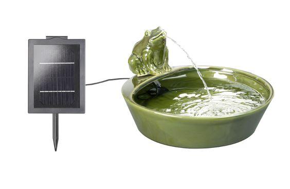 Solarbrunnen Frosch: Amazon.de: Garten
