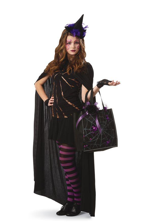 Glitter  Ghouls Teen/Tween Witch Halloween Costume Halloween