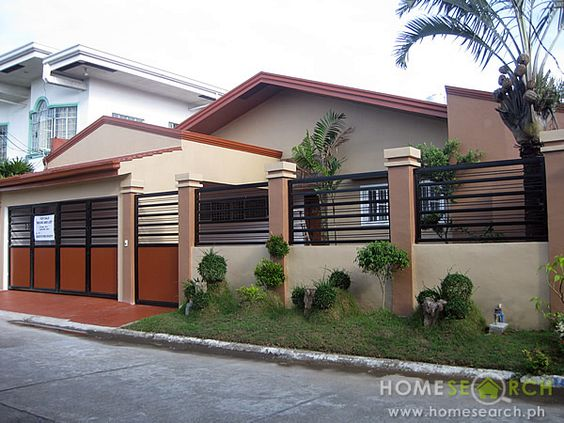 House and lot design bungalow