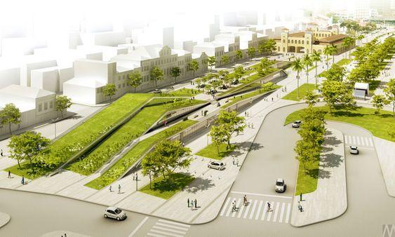 Largo do Mercado Público de SC | Mader Arquitetos Associados – Arquiteto Porto Alegre – RS – Brasil – Arquitetura Residencial – Projetos