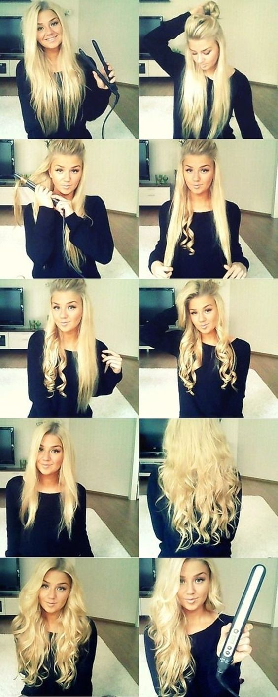 35 DIY Hairstyle Tutorials With Pictures | http://fashion.ekstrax.com/2014/07/diy-hairstyle-tutorials-with-pictures.html