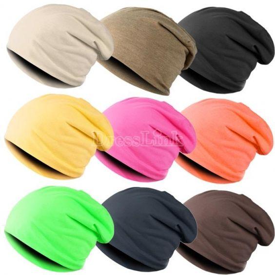 Unisex Hip-hop Cap Beanie Hat Winter Slouch