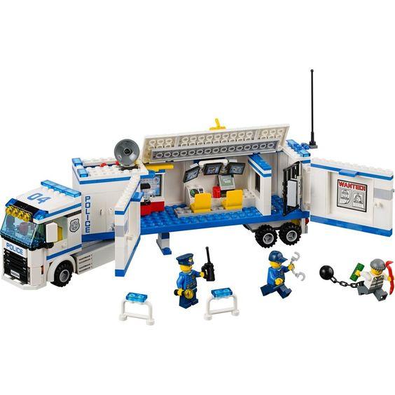 L  unité de police mobile LEGO City 60044