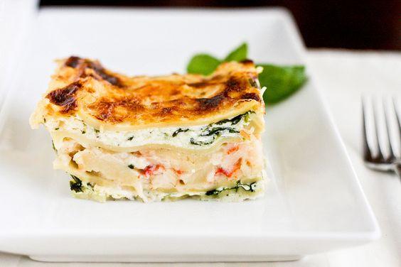 White Seafood Lasagna by foodiebride, via Flickr