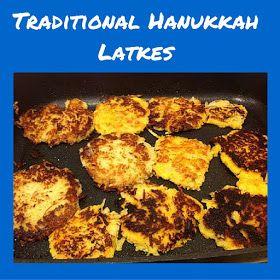 Happy Hanukkah and Blender Latke Recipe