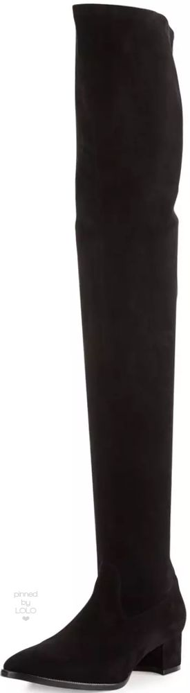 manolo blahnik over the knee boots