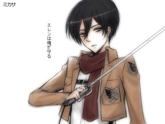 Mikasa Ackerman GenderBender. :3