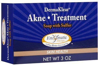 Enzymatic Therapy  Derma Klear Akne Treatment Soap 3 oz Pack of 4 ** Want to know more, click on the image.