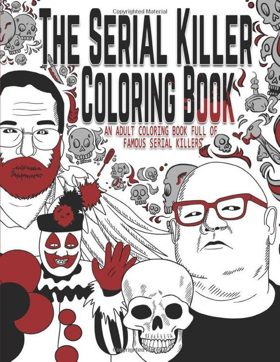 Pin On Horror Coloring Books