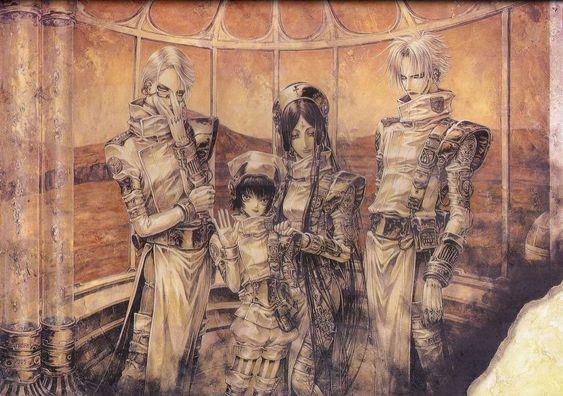 Trinity Blood/ Seth Nightroad, Abel Nightroad, Cain Nightroad
