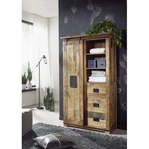 Ernst 1 Door Wardrobe Borough Wharf In 2020 Tall Cabinet Storage Borough Wharf Home Decor