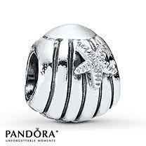 seashell pandora charm(got this today)!!!