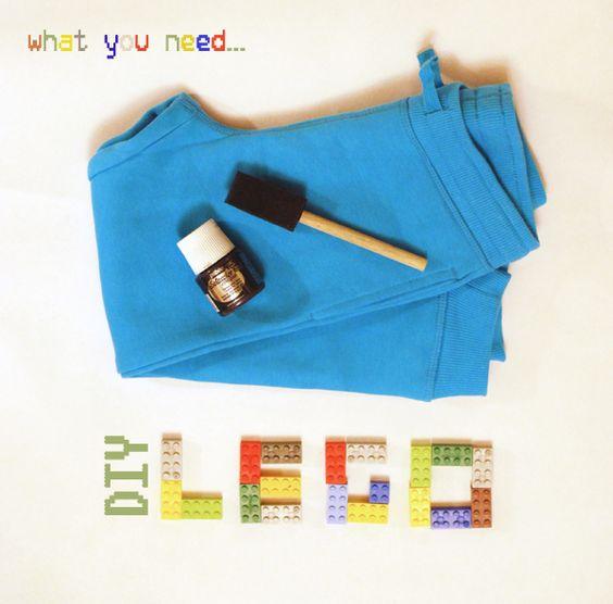 petit à petit and family: DIY: Lego Stamping...