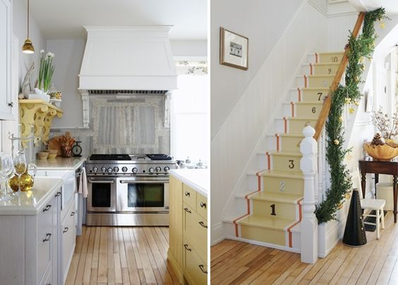 Sarah_Richardson_Designs -- Kitchen stairs?