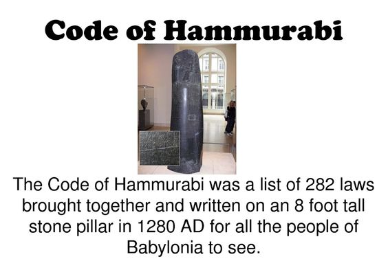 analysis of hammurabis code Publisher's summary: hammurabi, a babylonian king from 18th century bc, is  widely  this much-needed text sheds new light upon the code of hammurabi,.