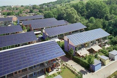 Solar city places heavy emphasis on sustainable living