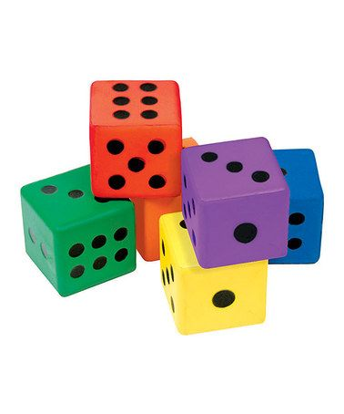 Look what I found on #zulily! Foam Dice Set by Palos Sports #zulilyfinds