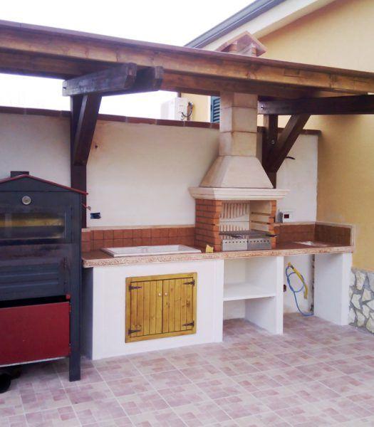 Cucina prefabbricata da esterno mod. ouk6 | popovica nel ...