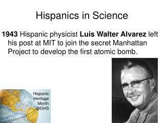 PPT - Luis Walter Alvarez PowerPoint Presentation