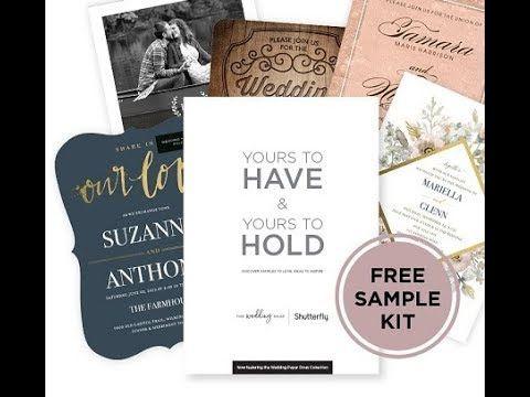 Shutterfly Wedding Invitations Samples Kit Opening Wedding Invitation Samples Wedding Invitations Invitations