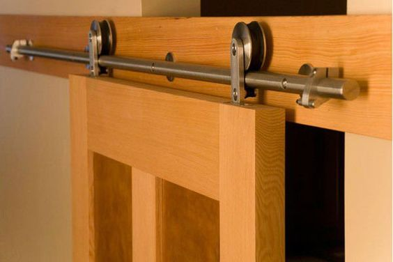 Corredera puerta de granero de hardware kits de la puerta - Puerta de garage ...