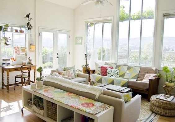 natural light is the best !: Sofa Tables, Living Rooms, Going Home, Livingroom, Room Design, Eclectic Living Room