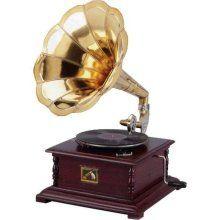 Horn Phonograph Replica