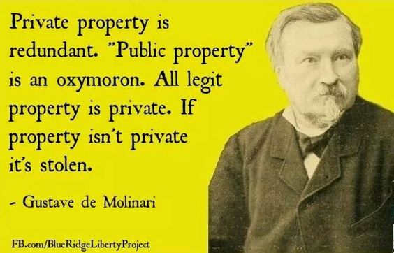 Private property is redundant.