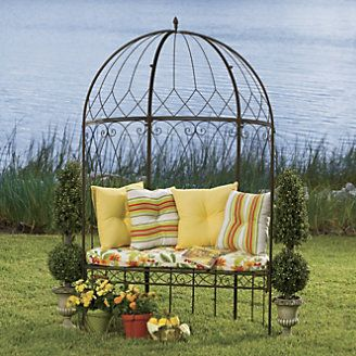 Domed Garden Bench