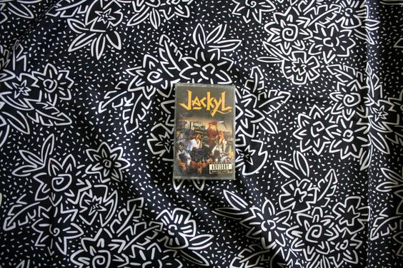 Jackyl - Self Titled Cassette Tape. Vintage 1980s Heavy Metal Cassette. Classic 90s Rock N Roll Hair Metal. Parental Advisory