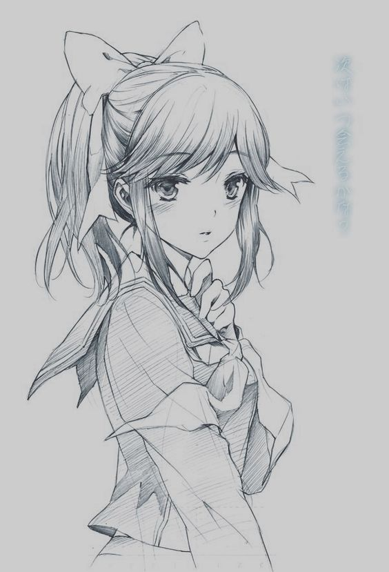 40 Amazing Anime Drawings And Manga Faces Ekstrax Desenhos De Anime Manga Anime Anime Kawaii
