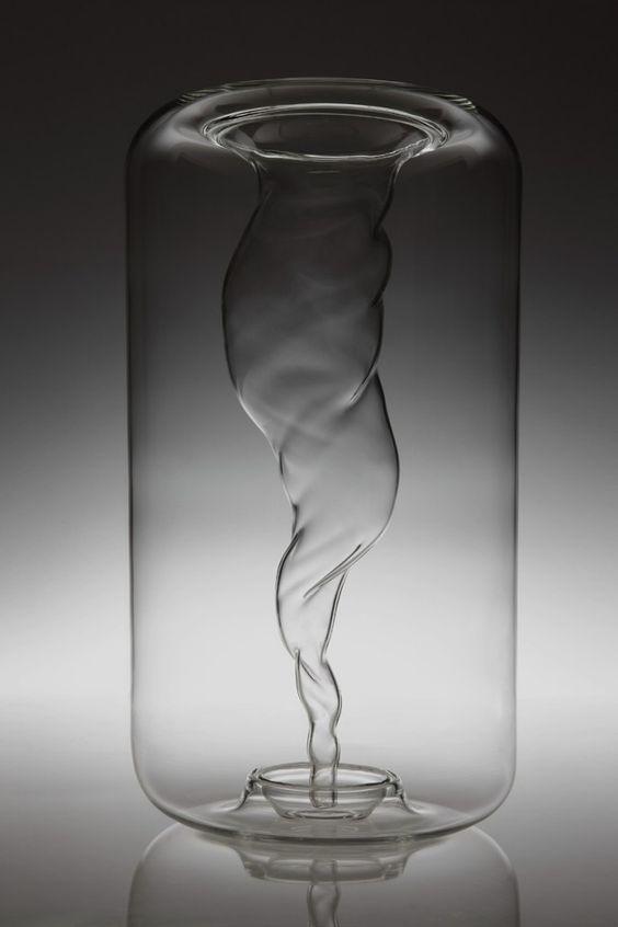 designer vasen | designer vasen geblasenes glas TOURBILLON GALLERY S BENSIMON