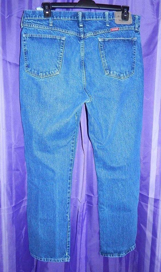 Wrangler Mens Jeans Five Star Premium Denim Jean Regular Fit 96501 40x32         #Wrangler #ClassicStraightLeg