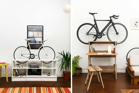 Manuel Roseel's zany new furniture doubles as a bike rack | Inhabitat - Green Design, Innovation, Architecture, Green Building