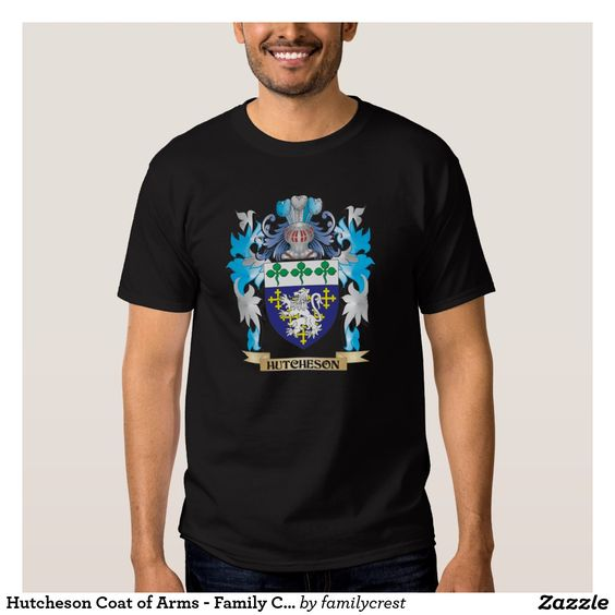 Hutcheson Coat of Arms - Family Crest Shirt