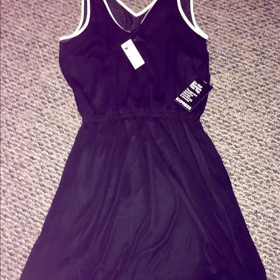 Express Double V Neck Dress This dress is brand new with tags! I bought it for a wedding and never wore it! Express Dresses