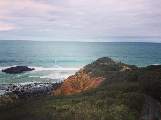 #aireysinlet #greatoceanroad #splitpointlighthouse #seeaustralia #australia #visitvictoria #victoria #melbourne #stunningview #beautifulview #ocean by dreamcatcherkayla http://ift.tt/1PI0pio