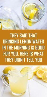 Lemon water benefits 11977