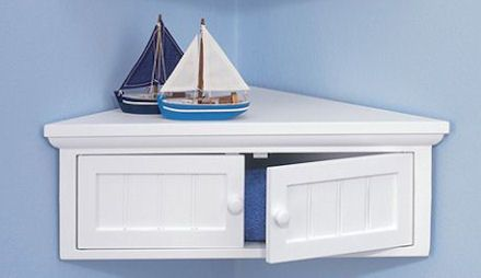 Shaker Style Corner Cabinets - A Place for Everything