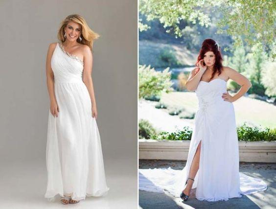 Vestidos de noiva para gordinhas: fotos e um guia imperdível para parecer mais magra! | http://www.blogdocasamento.com.br