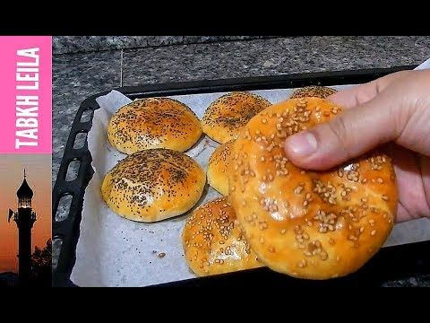 96 خبيزات فرديين معمرين بالطون بعجينة هشة مثل القطن مع طبخ ليلى Youtube Arabic Food Food Hamburger Bun