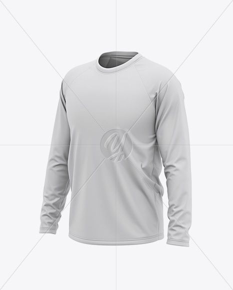 Download Men S Raglan Long Sleeve T Shirt Mockup Front Half Side View In Apparel Mockups On Yellow Images Object Mockups Clothing Mockup Men S Long Sleeve T Shirt Shirt Mockup