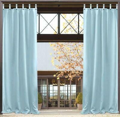 50x120 Inch Outdoor Single Window Curtain Panel Blackout Uv Ray