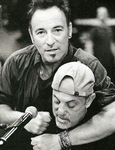 Bruce and Billy Joel #springsteen #joel