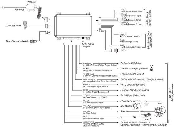 5706 Viper Alarm Wiring Diagram In 2020 Viper Car Car Alarm Viper Alarm