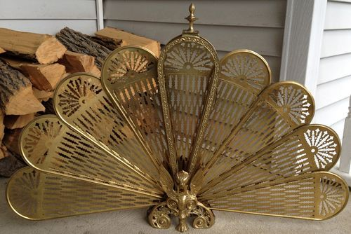 Fans Fireplace Hearth And Brass On Pinterest