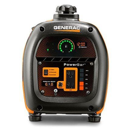 Generac 6866 iQ2000 Gasoline Quiet Portable Inverter Generator power panel