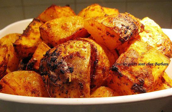Tous les goûts sont chez Barbara: Pommes de terre épicées