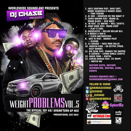 Weight Problems Vol. 5 New HipHop & Rnb (For Promotional use Only)
