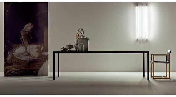 カッシーナ ダイニングテーブル ナーン コーディネート例